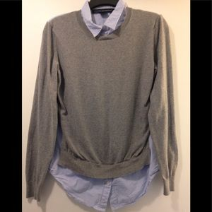 French Connection sweater/blouse medium